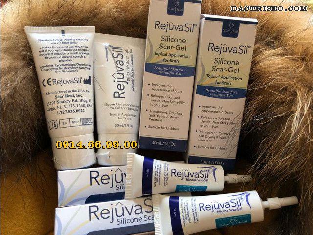 Sử dụng kem trị sẹo scar rejuvasil là cách trị sẹo lồi hiệu quả